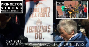 David Brahinsky March For Our Lives Rallies Princeton to Stop Gun Violence