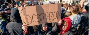 NATION / WORLD Scamazon Amazon Europe Goes On Strike Over Poor Work Conditions