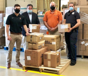 Princeton University Donates PPE to Mercer County